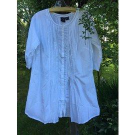 White Tailored Tunic