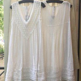 White Gauze Dress