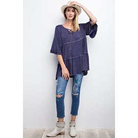 BLUEBERRY GYPSY TOP