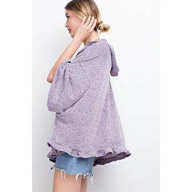 Hoodie  Loose Pullover
