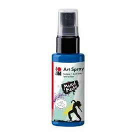 MARABU ART SPRAY - gentian