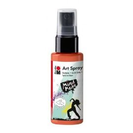 MARABU ART SPRAY - red orange