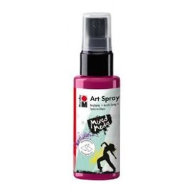 MARABU ART SPRAY - raspberry