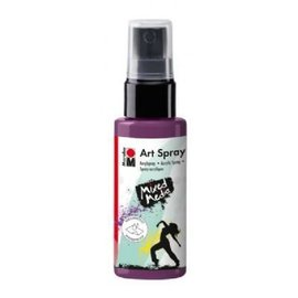 MARABU ART SPRAY - aubergine