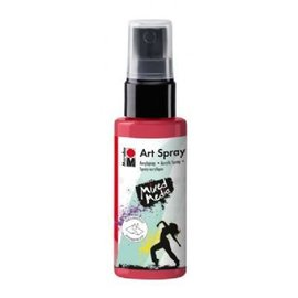MARABU ART SPRAY - cherry red