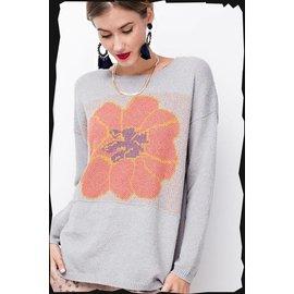 Poppy Flower Sweater