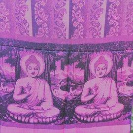 BUDDHA SHAWL MAUVE