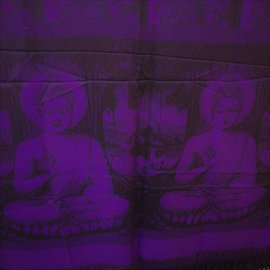 BUDDHA SHAWL PURPLE
