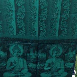 BUDDHA SHAWL TEAL