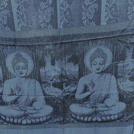 BUDDHA SHAWL BLUE