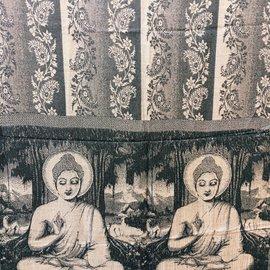 BUDDHA  SHAWL TAN