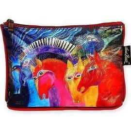 Horses Laurel Burch Foiled Bag