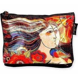 Sun Woman Laurel Burch Foiled Bag