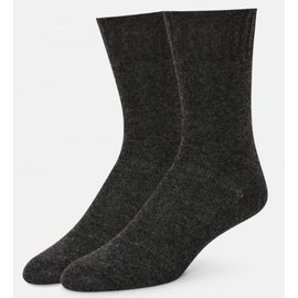 CASHMERE BLEND SOLID CREW SOCKS - color choices!