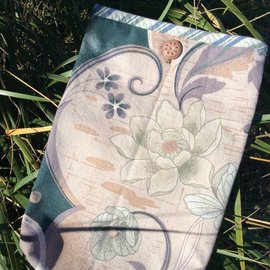One Of A Kind Handmade Item Very Useful Little Bag #51 Lovely Lotus