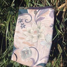 One Of A Kind Handmade Item Very Useful Little Bag #1 Soft Lotus