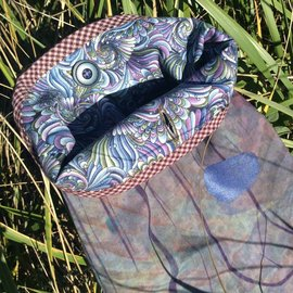 One Of A Kind Handmade Item Very Useful Little Bag #5 Moody Landscape