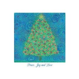 Christmas Peace Tree Card