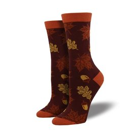 FALL LEAVES BAMBOO SOCKS