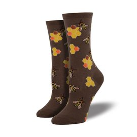 HONEYCOMB BEES SOCKS