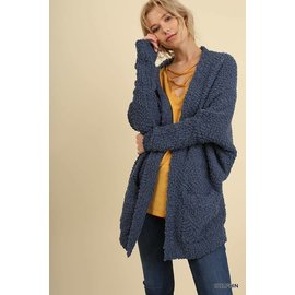 NUBBLY CARDIGAN - COLOR CHOICES