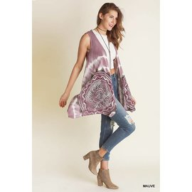 SALE -- MANDALA VEST- COLOR CHOICES