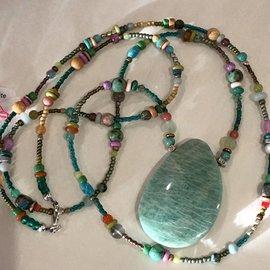 Kate's Amazonite necklace