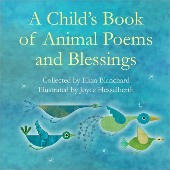 child s book of animal poems and blessings kamala boutique