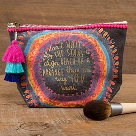 Stars Align Canvas Pouch