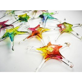 Hand Made Glass Star