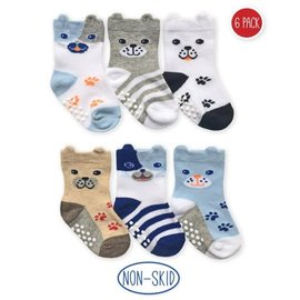 Puppy 6 Pack Toddler Socks