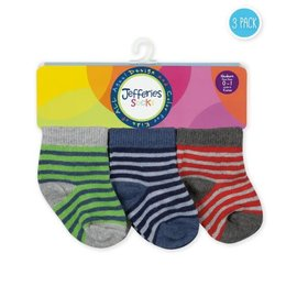 Baby Stripe Socks 3 Pack