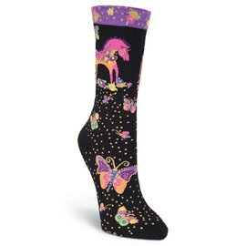 Laurel Burch Pretty Pony Socks