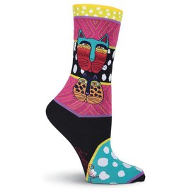 Laurel Burch Wild Cats socks