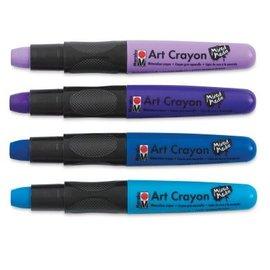 Watercolor Crayons - ocean