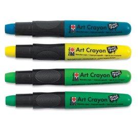Watercolor Crayons - jungle greens