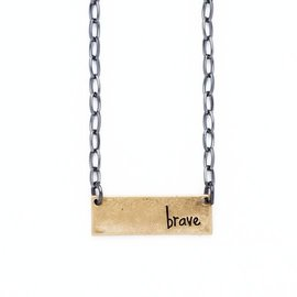 Bops Brave Necklace