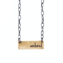 Bops Anchored Necklace