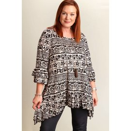 SALE -- TRIBAL PRINT PLUS TOP