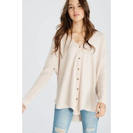 Soft Button Cardigan