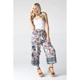 Cropped Floral Pant