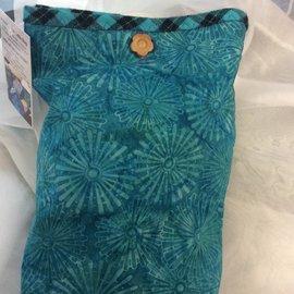 One Of A Kind Handmade Item Useful Little Bag - Azure
