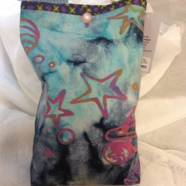 One Of A Kind Handmade Item Very Useful Little Bag - Aurora
