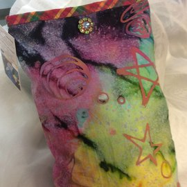 One Of A Kind Handmade Item Very Useful Little Bag - Alianna