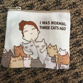 COIN PURSE NORMAL THREE CATS