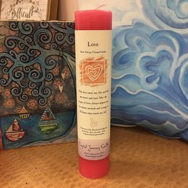 REIKI ENERGY CANDLE LOVE