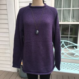 ONE SIZE BOXY ROLL NECK SWEATER - COLOR CHOICES