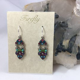 Swarovski Crystal Mosaic Earrings