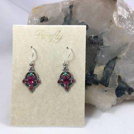 Art Nouveau Swarovski Crystal Earrings
