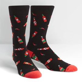 HOT SAUCE - MENS CREW SOCK